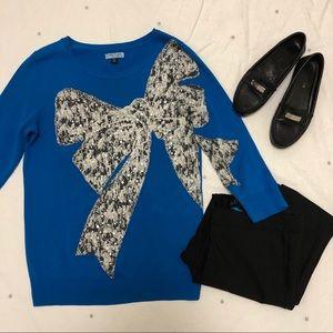 Cynthia Rowley bow sweater